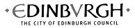 City of Edinburgh Council logo link