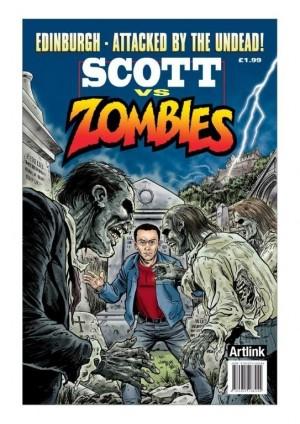 Scott Versus Zombies front cover