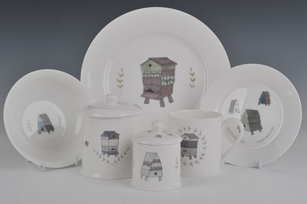 Julie Busk ceramic set