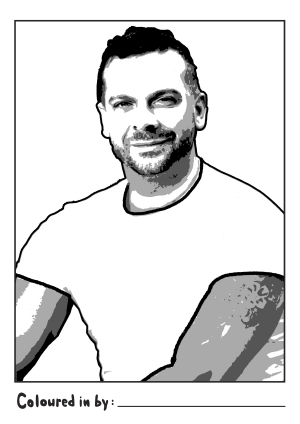 Cherry Road Colouring in Book Download