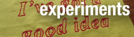 Experiments Header